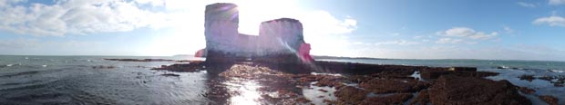 Old Harry Rocks Dorset at Low Tide