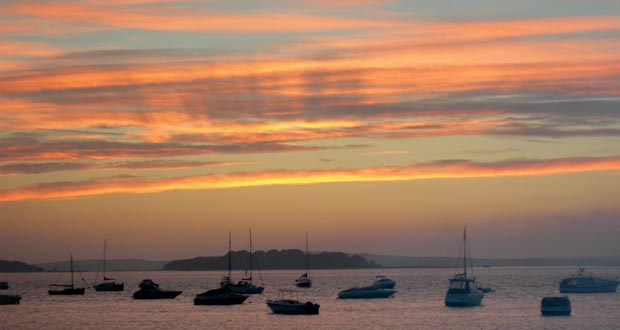 Rumsey-Holiday-Homes-Brownsea-Island-Sunset