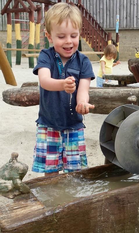Boy-in-Sandplay