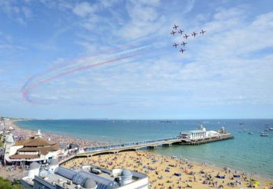 Red Arrows announce display times for 2021 Air Festival