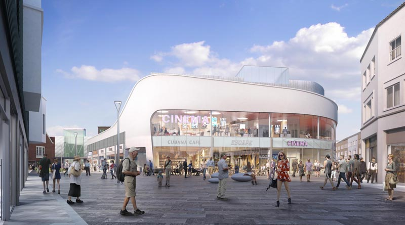 Plans for nine-screen cinema complex in Poole