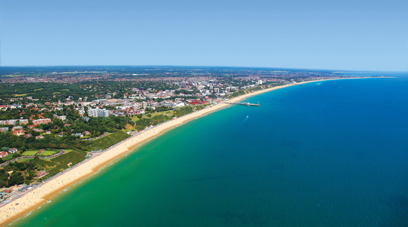 Bay shot - copyright Bournemouth Tourism