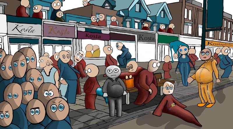 Boscombe-Characters © Jake Trickett