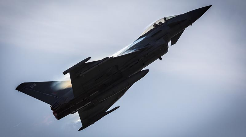 RAF Typhoon copyright @crowncopyright