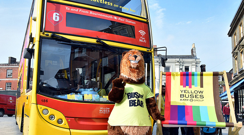 Yellow Buses Discover Wimborne
