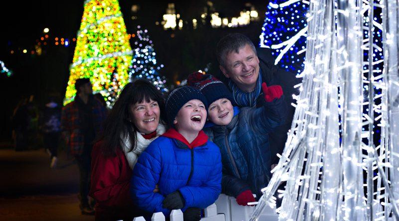 Bournemouth Christmas Tree Wonderland Trail- 171218