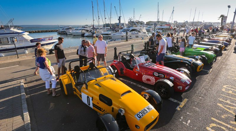 Poole Tourism. Quay for my Car on Poole Quay. Lotus 7's and Caterhams