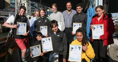 Ocean Youth Trust South Youngsters