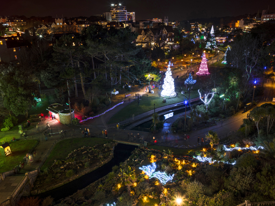 Christmas Tree Wonderland.Christmas Tree Wonderland Returns To Light Up Bournemouth In
