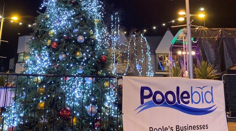 Poole BID Christmas Tree