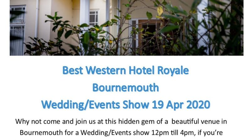 Best Western Wedding Show April 2020