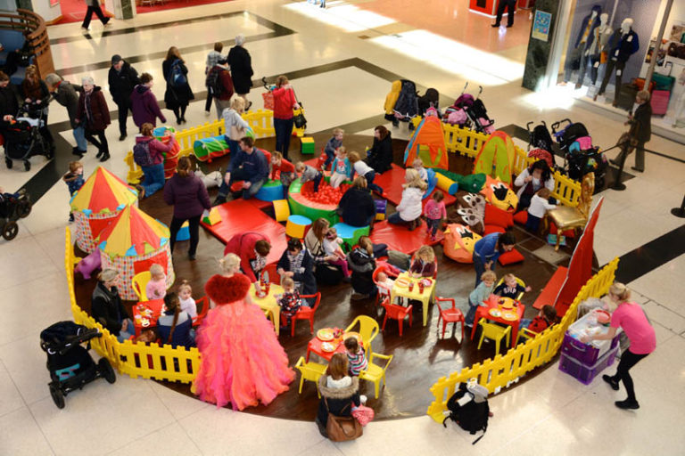 Little Fins soft play session at Dolphin Shopping Centre  768x512