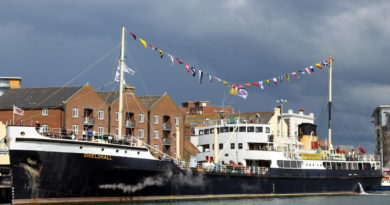 ss Shieldhall at Poole