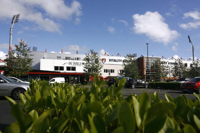 AFC Bournemouth Outside of stadium 768x512
