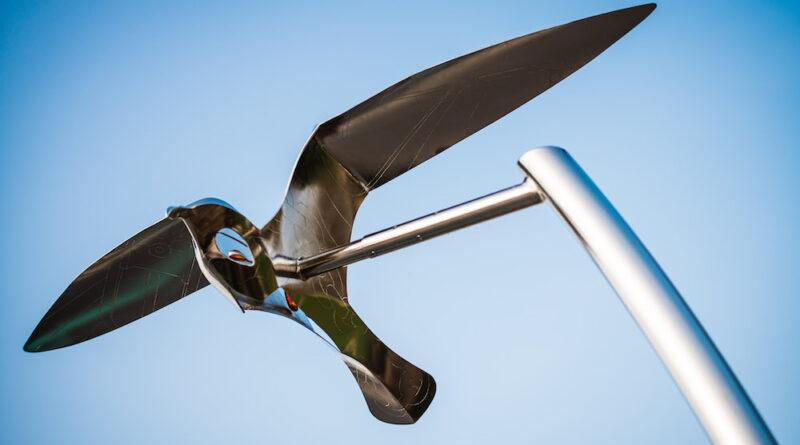 Poole Quay Birds Sculpture