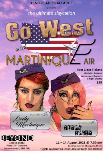 go west martinique air