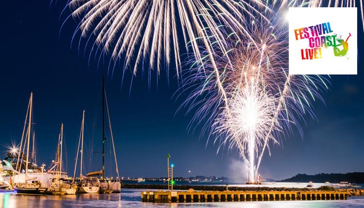 FestivalCoastLive CityFibre Fireworks